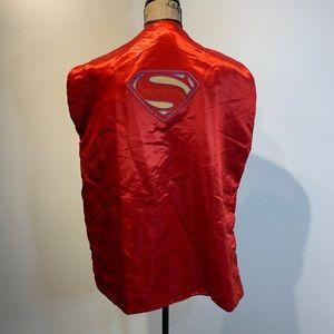 Boys Superman Batman Cape